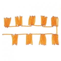 chaine de 1000 perles dorées montées