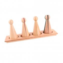 grands cones des fractions avec support