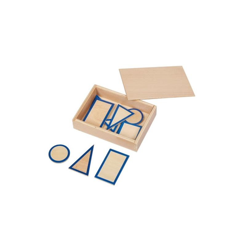 formes des solides avec leur boite