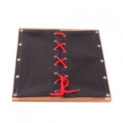 cadre lacet de chaussure