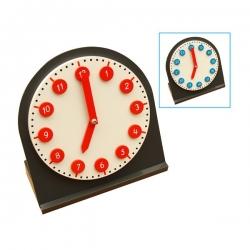 horloge avec aiguilles mobiles