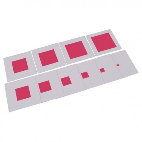 cartes de controles tour rose