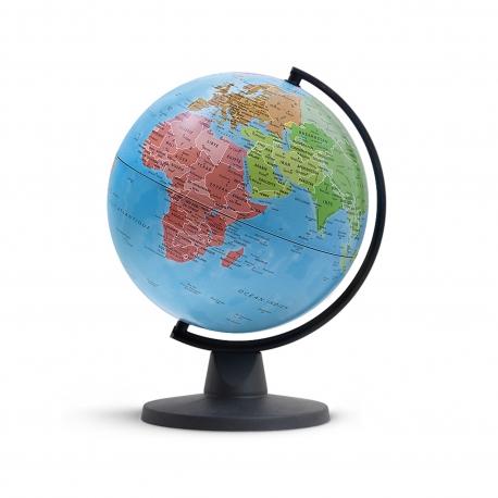 Globe des continents sensoriel