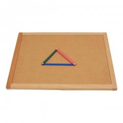bandelette bois pour géométrie