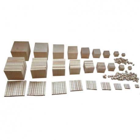 Set de numérotation complet en bois