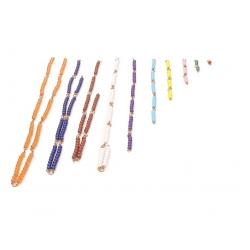 Suite de chaines colorées