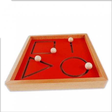plateau pour les formes géométriques.
