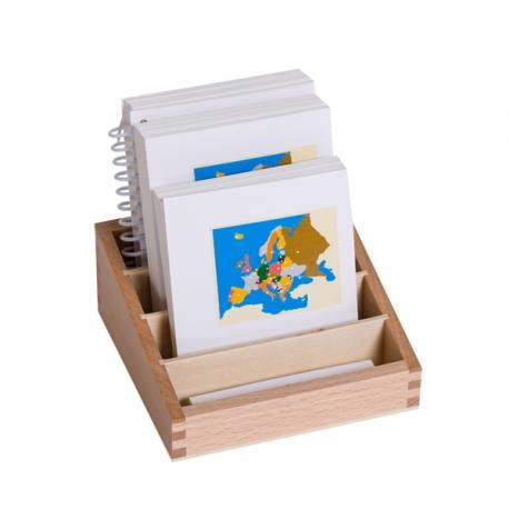 Cartes complètes avec stand : Europe