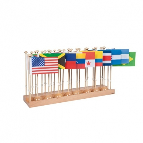 Drapeaux : Amérique du Sud