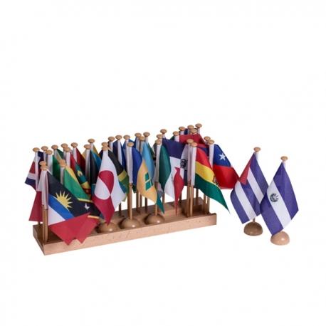Drapeaux : Amérique du Nord