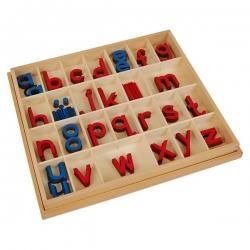 petit alphabet mobile, imprimerie, bois