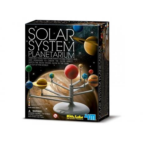 Maquette sytème solaire a monter.