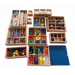14 boites complètes en bois