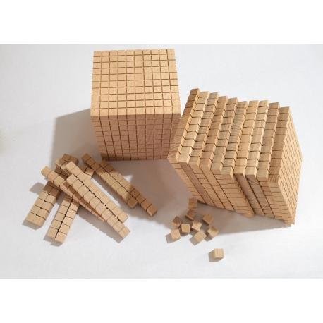 Set de numérotation en bois