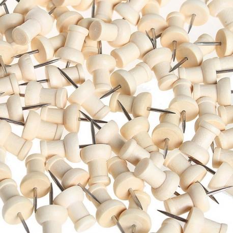 10 poinçons, de précision en bois