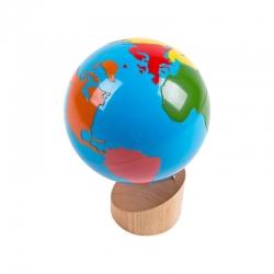 Globe des continents sensoriel haut de gamme.