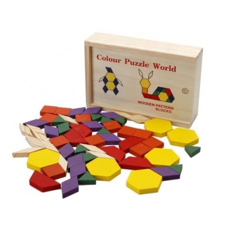 125 puzzles géométriques