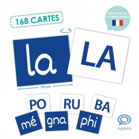 164 cartes avec des syllabes simples