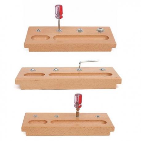 3 planches visser dévisser haut de gamme