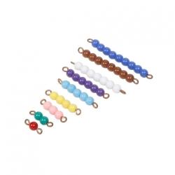 Chaines de perles de 1 à 9