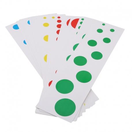 Cartes pour cylindres de couleur