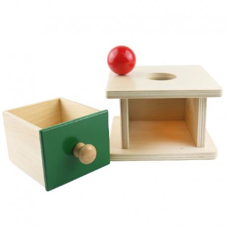 Boîte d'emboîtement boule avec tiroir