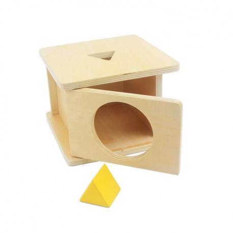 Boîte d'emboîtement prisme triangulaire