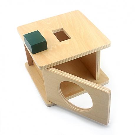 Boîte d'emboîtement prisme rectangulaire