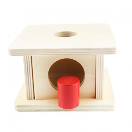 Boîte d'emboîtement avec cylindre