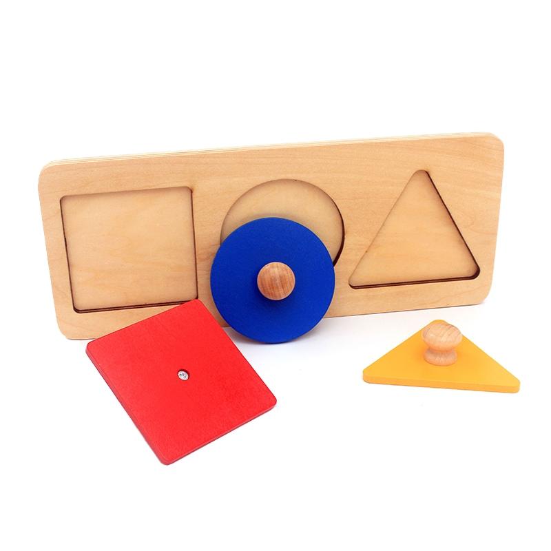 puzzle d'apprentissage des formes géométriqus
