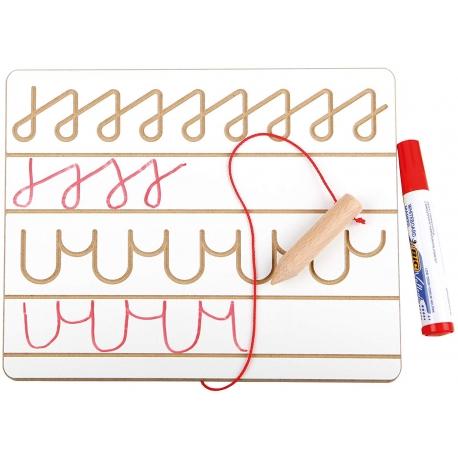 Planche à écriture.