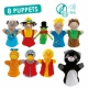 Marionnettes APPRENDRE À VIVRE ENSEMBLE + CD MP3.