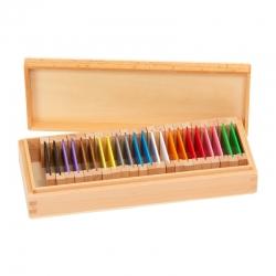 Deuxième boîte de couleurs haut de gamme