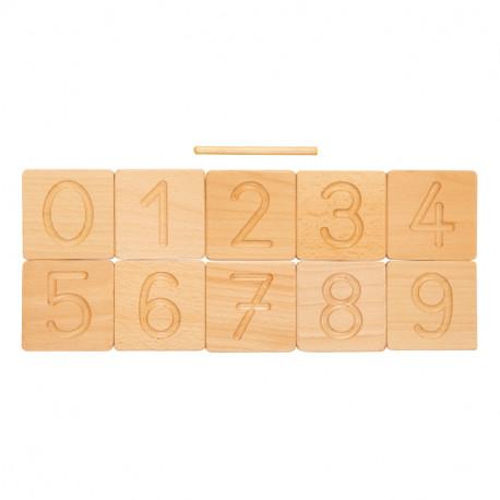 """""""tuiles"""" des chiffres et des lettres"""