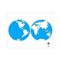 carte d'autocorrection monde non renseignée