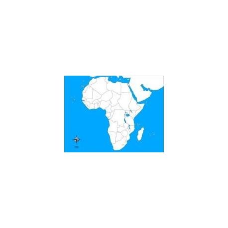 Carte d'autocorrection afrique non renseignée
