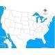 carte d'autocorrection USA non renseignée