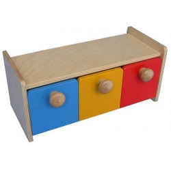 Boîte avec tiroirs