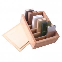 Tablettes thermiques avec boîte de rangement