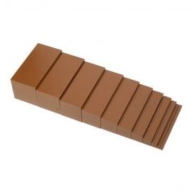 escalier marron haut de gamme