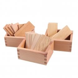 Tablettes barriques avec boîte de rangement