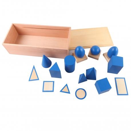 Volumes géométriques avec boite.
