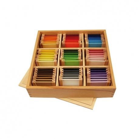 Troisième boîte de couleurs haut de gamme