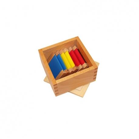 Première boîte de couleurs haut de gamme