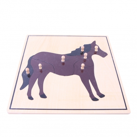 Puzzle cheval haut de gamme