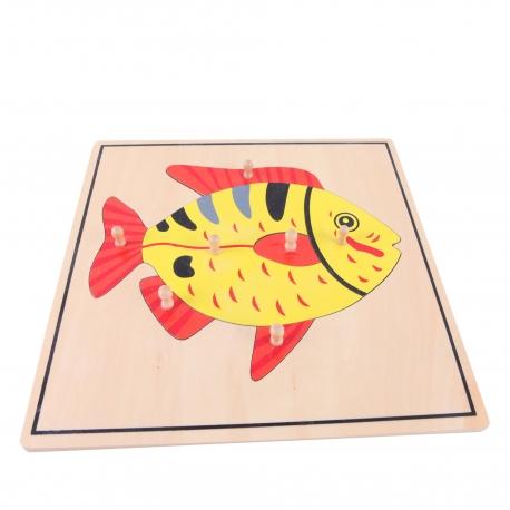 Puzzle poisson haut de gamme