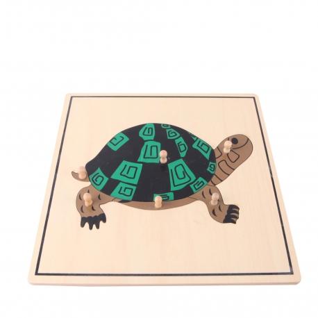 Puzzle tortue haut de gamme