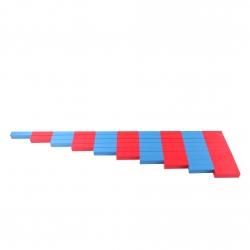 barres rouges et bleues haut de gamme